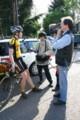 00286 Alexander Gut beim Interview mit dem Saarländischen Rundfunk